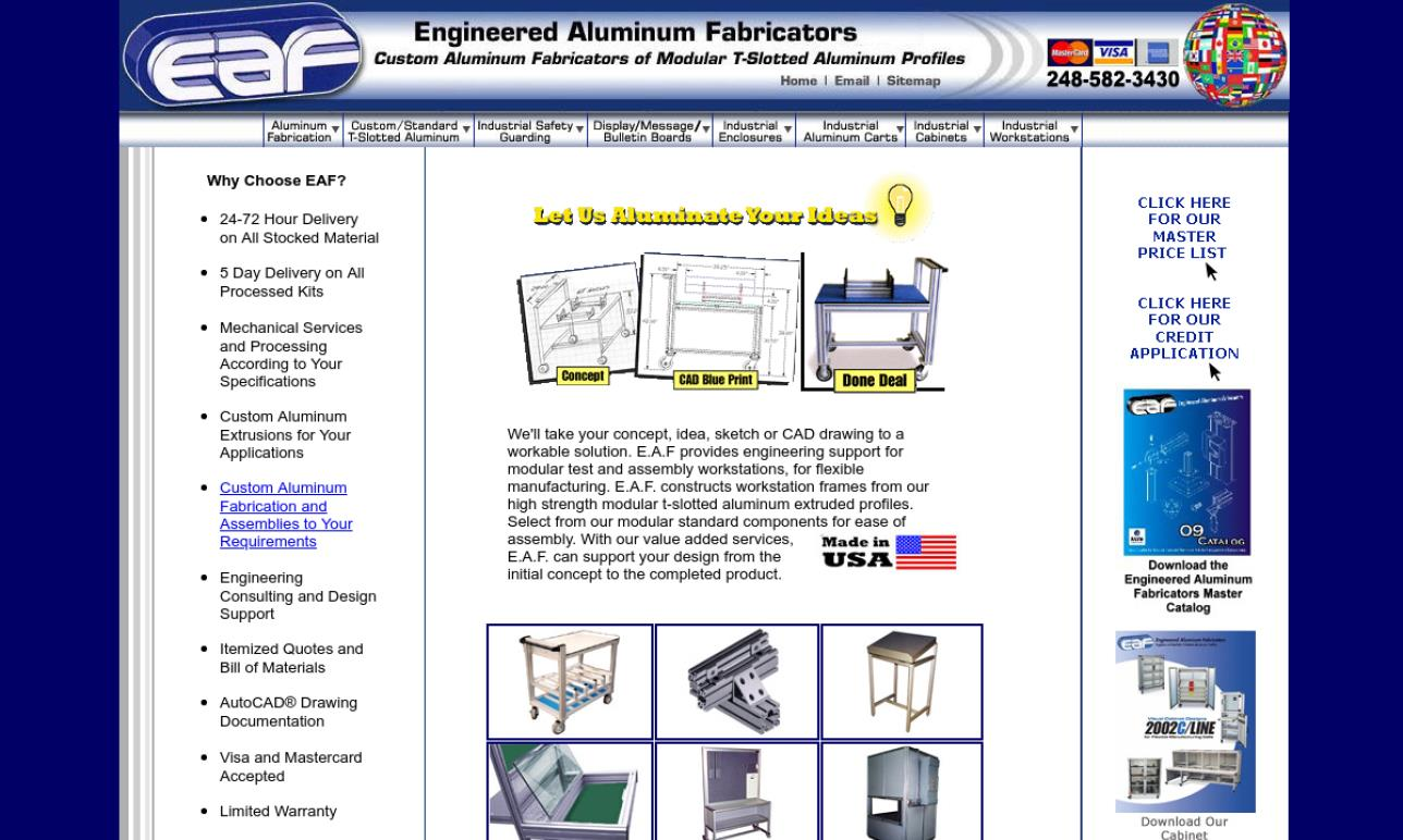 Engineered Aluminum Fabricators, Inc.