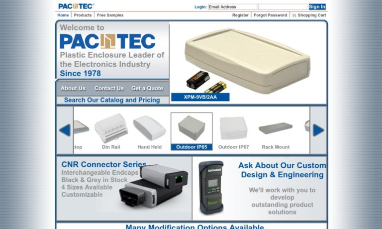 PacTec® Enclosures