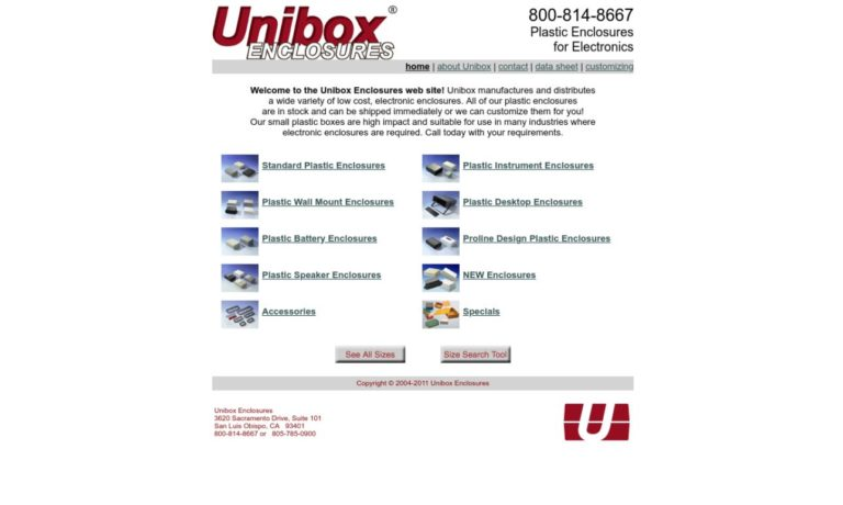 Unibox® Enclosures