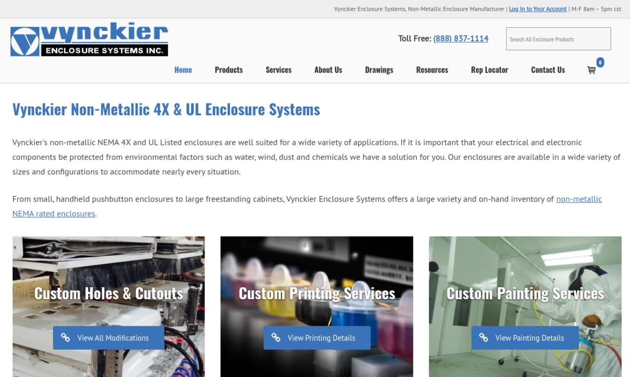 Vynckier Enclosure Systems, Inc.