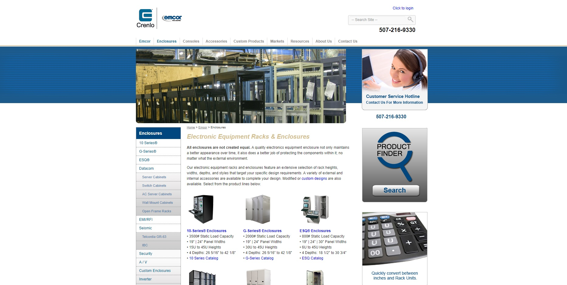 EMCOR® Enclosures