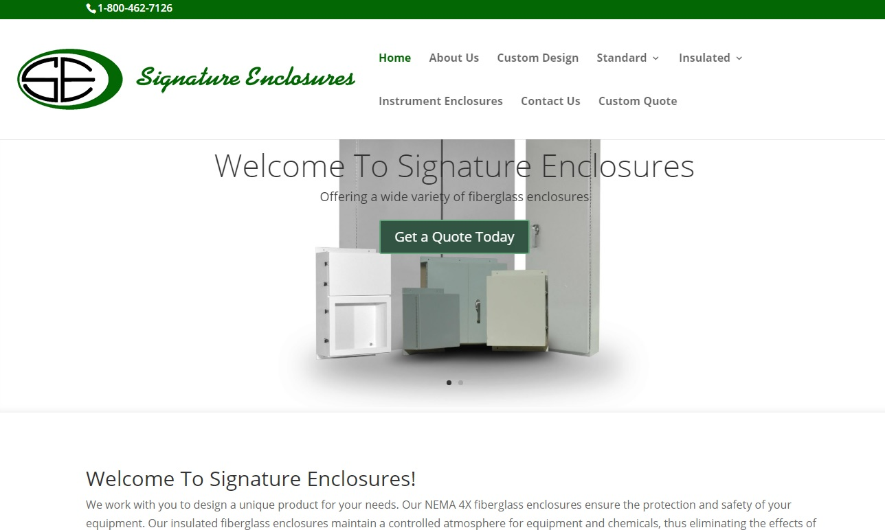 Signature Enclosures
