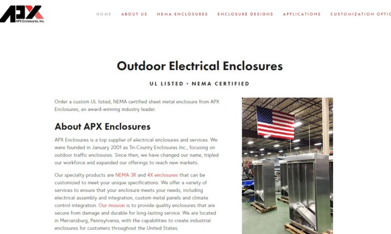APX Enclosures, Inc.